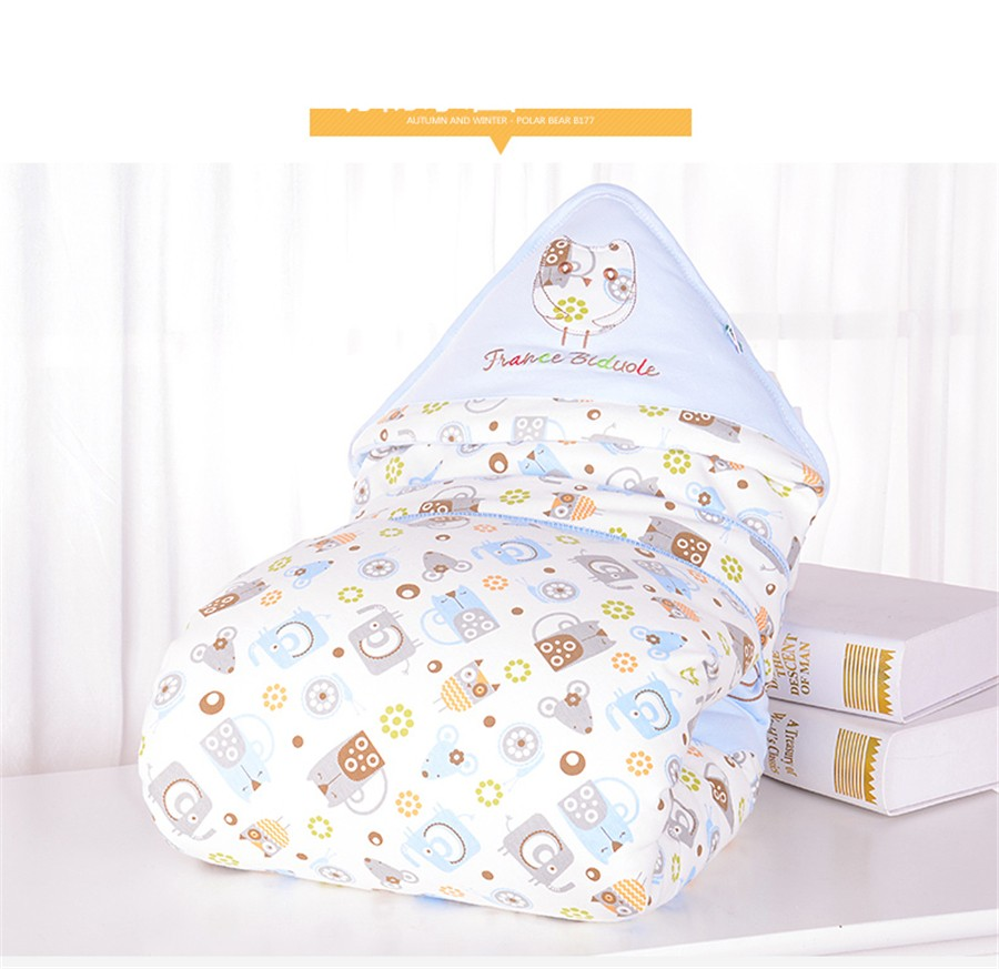 Baby Wrapped Blanket Warm Care (16)