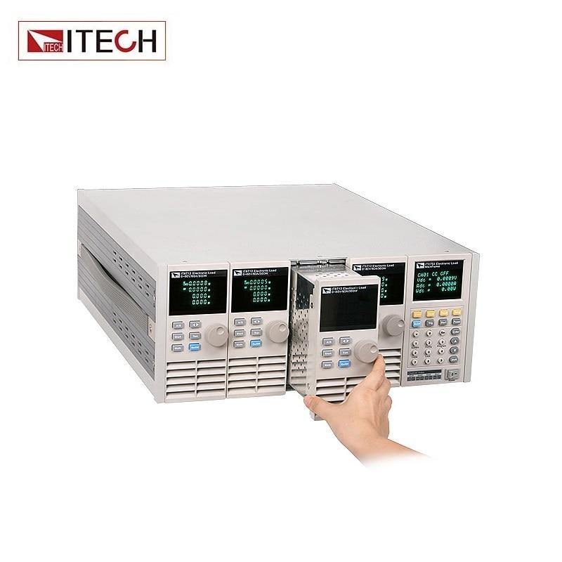 ITECH IT8731 Programmable DC Electronic Load 200W/80V/40A цена