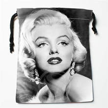 Fl Q160 New Marilyn Monroe 4 Custom Printed receive bag Bag Compression Type drawstring bags size