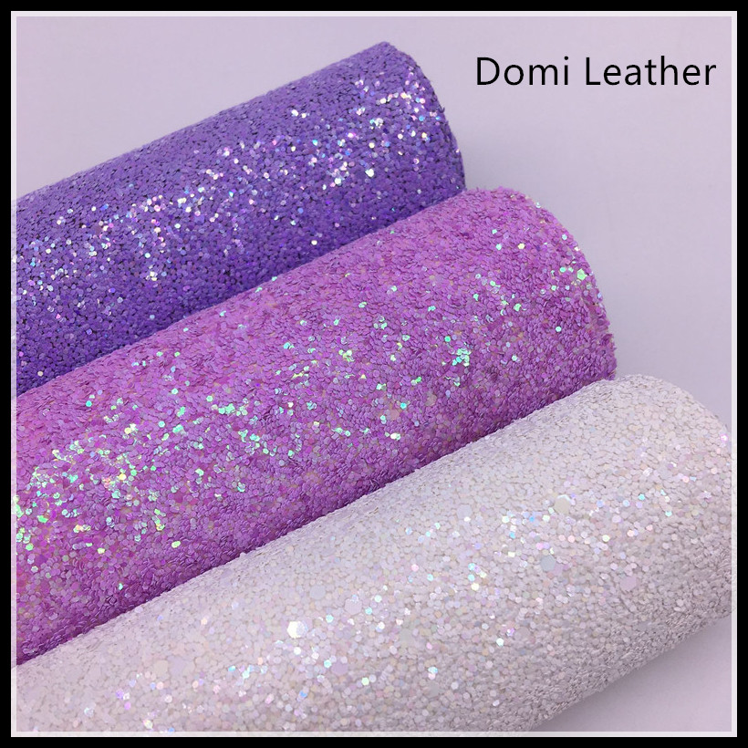 (DM6059) Fancy Chunky Glitter Fabric For Hiarbows Clips DIY Material