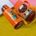 450 ML Garrafa Térmica Criança Crianças Palha Garrafa Térmica de Aço Inoxidável Garrafa De Vácuo Portátil Copo À Prova de Fugas Bebê Crianças Garrafa de Água de Viagem