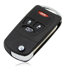 New 4 Buttons4 Buttons Remote Flip Folding Key Shell Case For Chrysler Sebring Pacifica Dodge