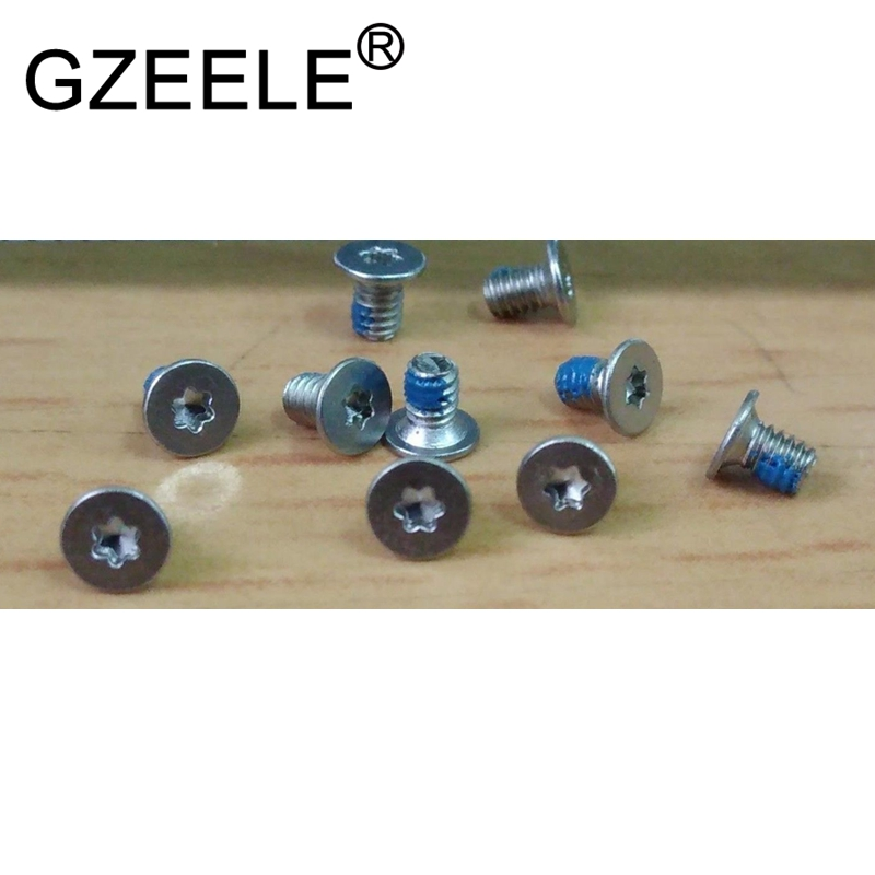GZEELE new 10pcs bottom cover screw for dell XPS13 9343 9350 9360 15 9550 9560 M5510 image
