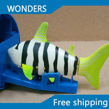 Magic Mini Remote Control Shark fish Electric Reachargeable RC Small Fish Children's Day Promotional Gift Free Shipping(China)