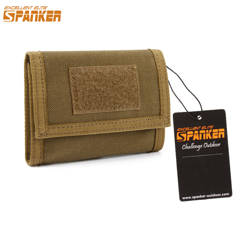 EXCELLENT ELITE SPANKER Military style Advanced Wallet EDC Leisure male Nylon short Wallet Waterproof Universal Money Bag