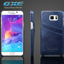 Gxe Телефон чехол для Samsung Galaxy Note 5 4 ультра тонкий защитный винтажные кожаные задняя крышка для Samsung Note5 Note4 сумки