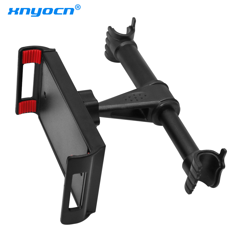 4-11 Inch Phone Tablet PC Car Holder Stand Back Auto Seat Headrest Bracket Support Accessories For IPhone X 8 IPad 1 2 3 4 Mini