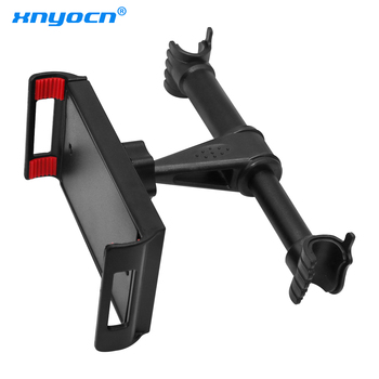 4-11 inch Phone Tablet PC Car Holder Stand Back Auto Seat Headrest Bracket Support Accessories For iPhone X 8 iPad 1 2 3 4 Mini стилус 3 x iphone 3g 3gs 4 4s ipad 2 3 samsung htc tablet pc