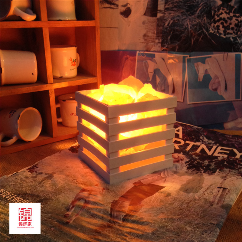 Salt Lamp Sizes For Rooms : HOT resin Himalayan crystal salt lamp table lamp light bedroom adornment night light lampsof the ...