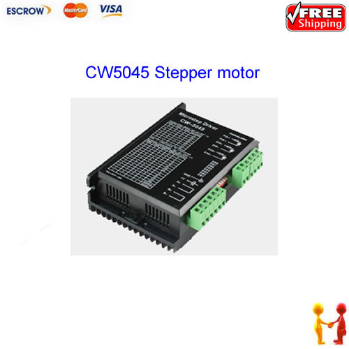 Free shipping!! CW5045(CW 5045) 2 phase Stepper motor Hybrid driver, Stepping motor driver,for cnc engraving machine or printers flash mp3 плеер digma u3 4gb black orange