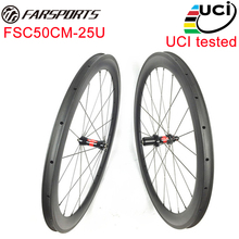 UCI approval !!! Farsports 50mm carbon bicycle wheels carbon road bike wheelset OEM ,Wholesals ,Drop Shipping are available