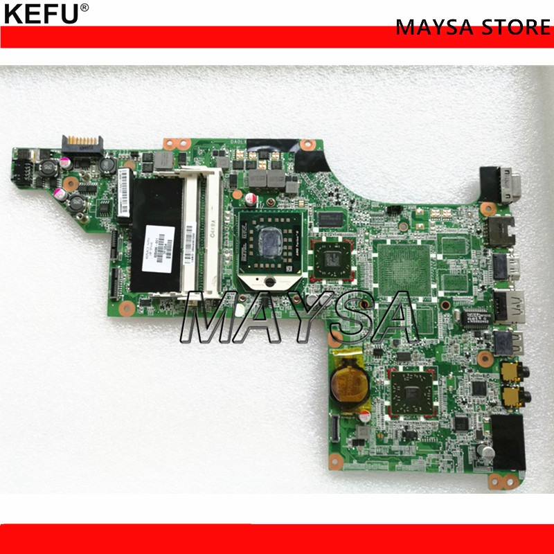 цена laptop Motherboard for hp DV7 DV7-4000 605496-001 Motherboard DAOLX8MB6D1 notebook mainboard Free Shipping