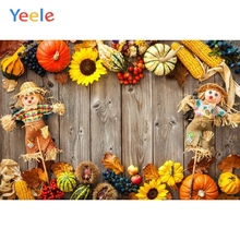 Yeele  Wooden Board Food Commodity Show Newborn Kid Personalized Photographic Backdrops Photography Backgrounds For Photo Studio