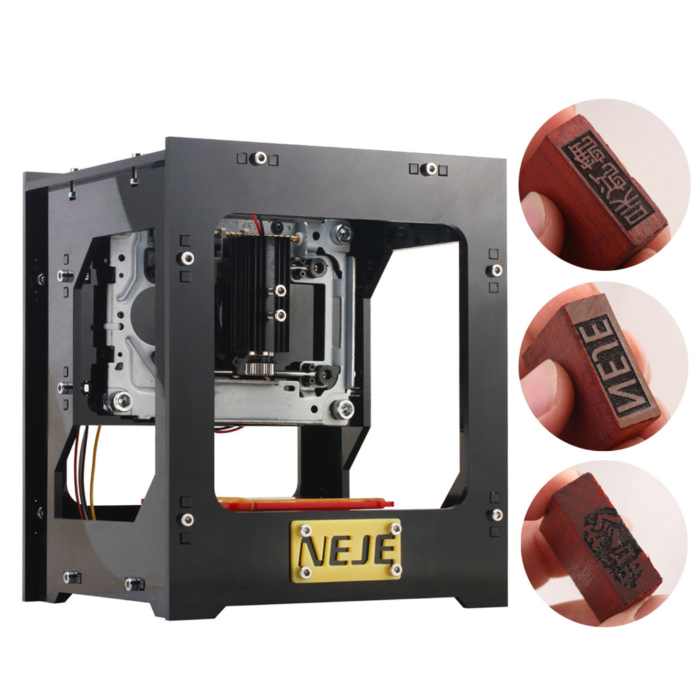 CNC Laser Engraving Machine 1000mW Automatic DIY Print Engraver Mini USB Engraving Machine Off-line Operation 1000mw high speed mini laser cutter usb laser engraver cnc router automatic diy engraving machine off line operation glasses