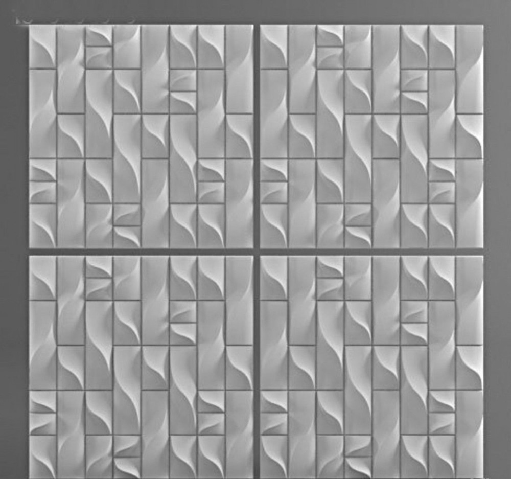 Plastic molds forms 3d decorative wall panels vertic price for 1 plastic molds forms 3d decorative wall panels vertic price for 1 square meter set of 4 forms size 500x500x30mm in clay molds from home garden on amipublicfo Gallery