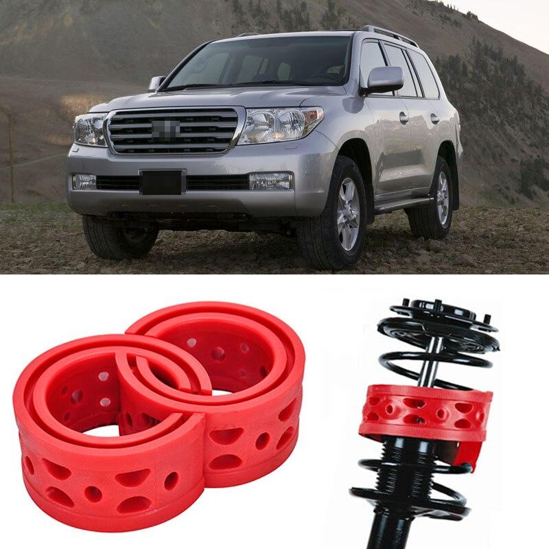 2 pièces taille D avant choc Suspension coussin tampon ressort pare-chocs pour Toyota Land Cruiser