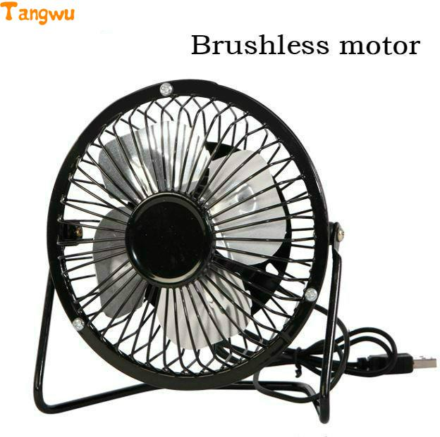 Free shipping Sai USB office desktop USB small  fan mute Fans Brushless motor tiny rose embellished floral rhinestone barrette