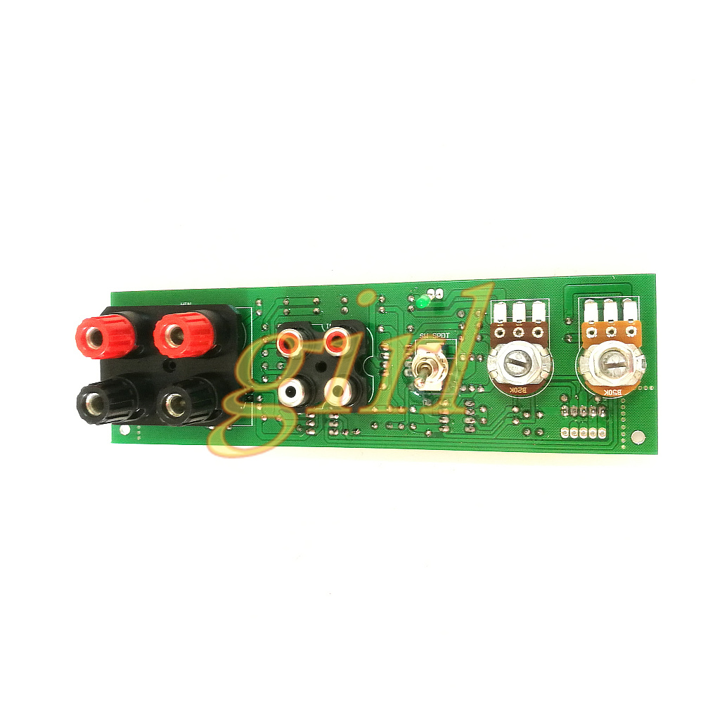 Pure Subwoofer Front Plate Low Pass Filter High Level Input DIY Pre Tone Balanced Input / Output Board