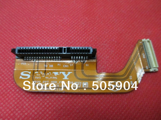 "Original For  Sony VPCSA VPCSB VPCSC VPCSE VPCSD27EC 2.5""  SATA  Hdd Hard Disk  SSD Cable Connector FPC-239"