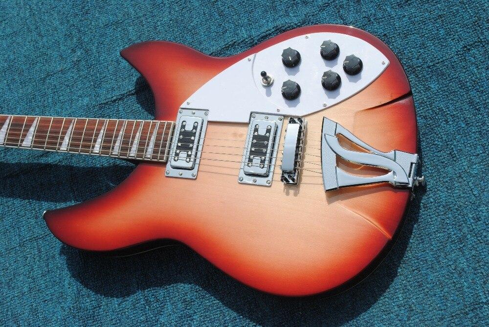 Guitare électrique classique personnalisée, dégradé, livraison gratuite, guitare électrique jazz premium.