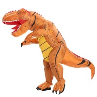 Adult T rex inflatable Dinosaur costume Halloween Costume for Women Men Animal Cosplay Mascot Dinosaur Party Fantasia Disfraces