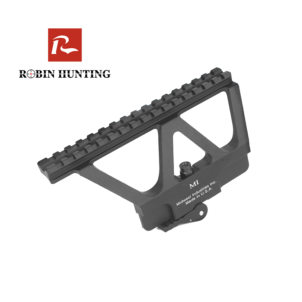 Robin Hunting Tactical Compact AKM Weaver Picatinny Rail <font><b>Mount</b></font> Hunting Rifle <font><b>Scope</b></font> Outdoor Carbine <font><b>AK47</b></font> <font><b>Scope</b></font> <font><b>Mount</b></font> image