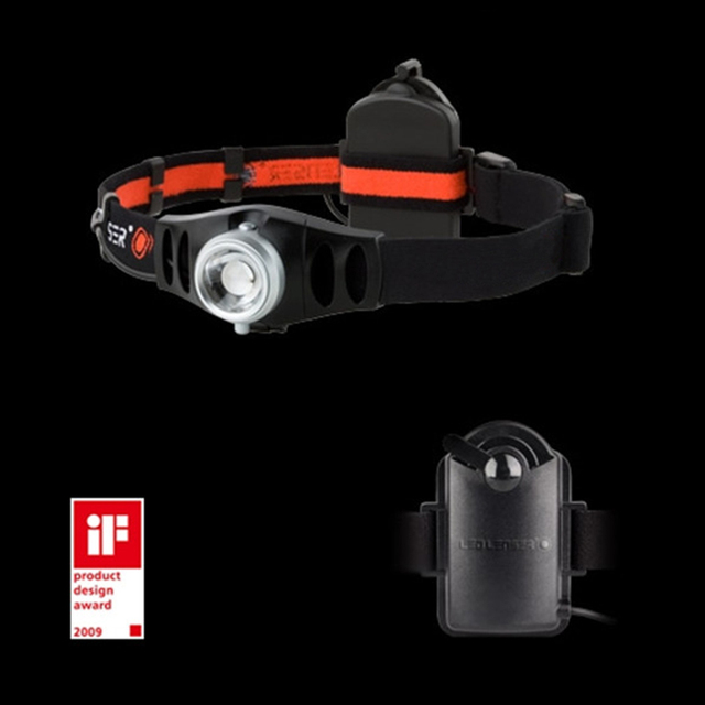 Best Selling High Performance Dimmable H7 LED Zoom Headlamp with Free Batteries