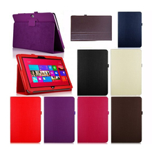 Case for Microsoft Win 8 Surface RT 10.6, GARUNK New PU Leather Protective Cover For Microsoft Win8 Surface Rt 10.6 Tablet PC