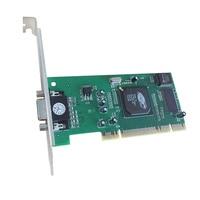 100 NEW ATI 8MB VGA PCI Slot Profile Video Card Universal Graphics Card 32bit For Windows