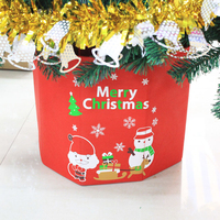 1PC Folding Cartons Merry Christmas Decorations Fruit Candy Apples Gift Box Home Table Ornaments Gift Storage