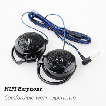 Earphone S520 Headphone General Purpose Ear Hook Headset with Microphone for iPhone Samsung Xiaomi Mobile Phone fone de ouvido цена 2017