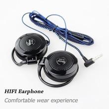 Earphone S520 Headphone General Purpose Ear Hook Headset with Microphone for iPhone Samsung