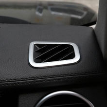 2Pcs Car Dashboard Air Vent Outlet Frame Cover Trim Sticker ABS Fit for Discovery 4 Range Rover Sport 2010-2013 inner rear air vent outlet cover trim for land rover range rover sport 2005 2013 2pcs