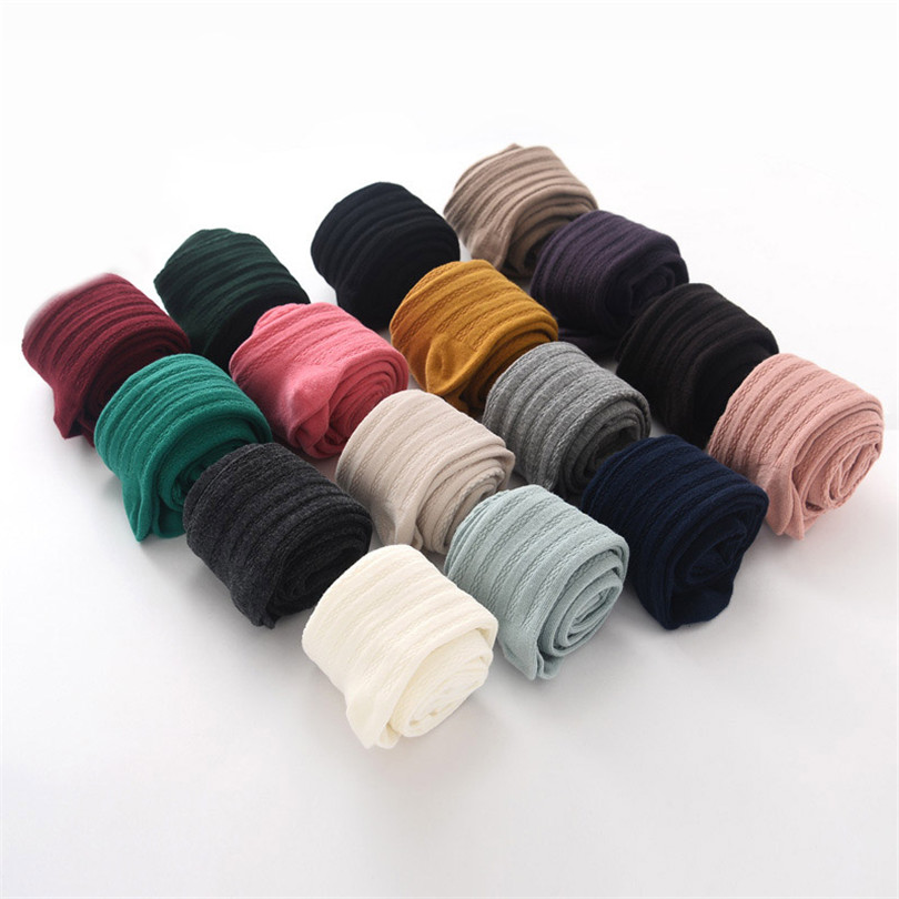 New Winter Striped Cotton Pantyhose Fashion For Women Candy Colors Knitted Sexy Over Knee Warm Lady Thigh With Tights High W047