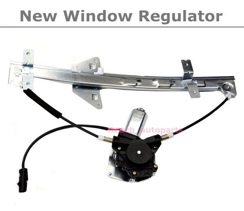 ФОТО Rear Driver Side Power Window Regulator w/Motor For 98-03 Dodge Durango Dakota