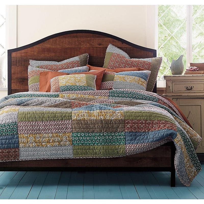 100 Cotton Pure Handmade Quilt 3pcs Set Summer Quilt
