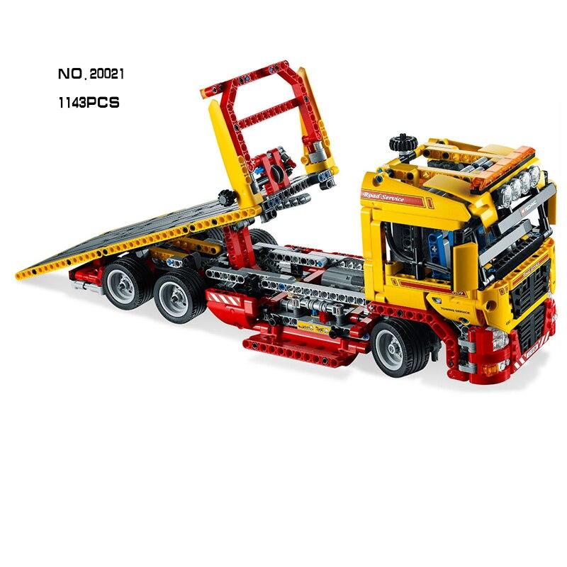 Bloques de construcción de remolque de plataforma Figura juguetes de - Juguetes de construcción - foto 2
