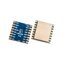 2 шт./лот LoRa1280 большой диапазон LoRa 2,4G модуль SX1280 чип 2,4 ГГц радиочастотный беспроводной трансивер