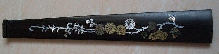 ФОТО Senior a brand inlaid sculpture 4/4 new violin ebony fingerboard  1 pcs     102#