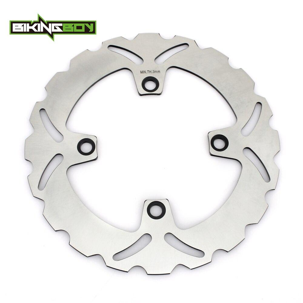 BIKINGBOY Rear Brake Disc Rotor Disk For CB 250 500 XL 600 650 700 V Transalp