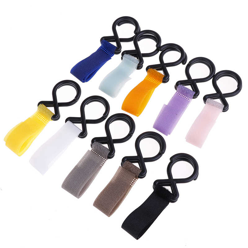 Baby Stroller Accessories Strong Infant Pushchair Hook Strap Hanger Newborn Carriage Trolley Handrail Hooks