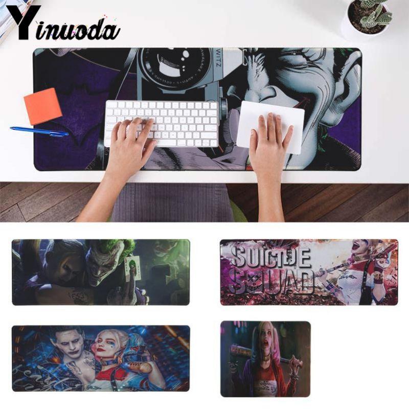 Yinuoda в заполненный Харли Квинн Джокер офисных мышей геймер мягкие Мышь Pad Размеры для 180*220 200*250 250*290 300*900 и 400*900*2 мм