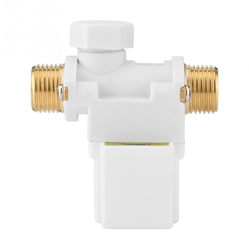Vereinigt Ac 220 V Elektrisches Magnetventil G1/2 elektromagnetventil Für Wasser N/c Normalerweise Geschlossen Electrovalvula De Agua Waren Jeder Beschreibung Sind VerfüGbar Sanitär Heimwerker