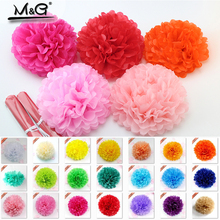 DIY Multi-colors Tissue paper pom poms for wedding birthday party craft supplies paper flowers home decoration accessories