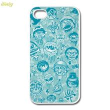 Funny zombies Custom Design printed hard plastic mobile phone bags & cases cover for Apple iPhone 4 4s 5 5s 5c 6 6s plus