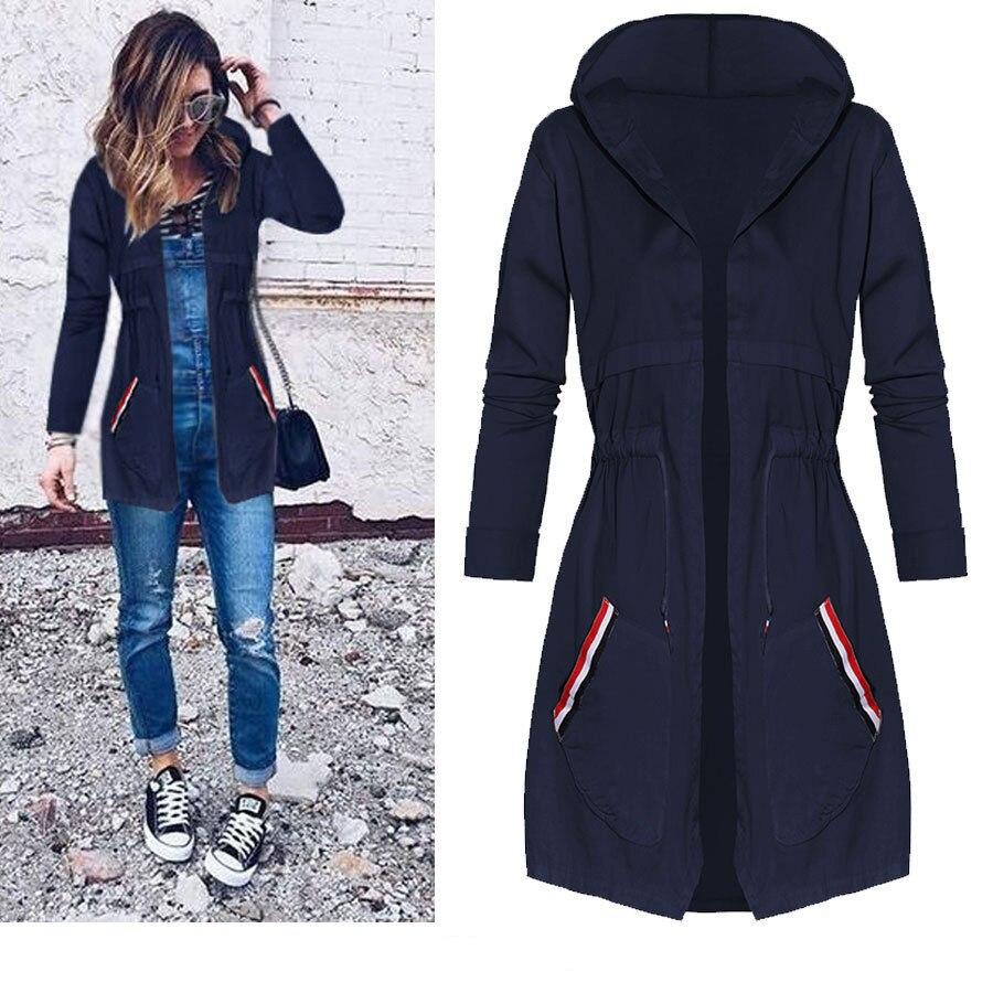 Autumn Winter Long Jackets and Coats Jaqueta Feminina 2018 ...