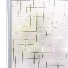 90*200 cm פרטיות לבן צלב עצמי דבק חלבית חלון סרט, סטטי להיאחז דקורטיבית זכוכית חלון מדבקה, UV חסימת מדבקות