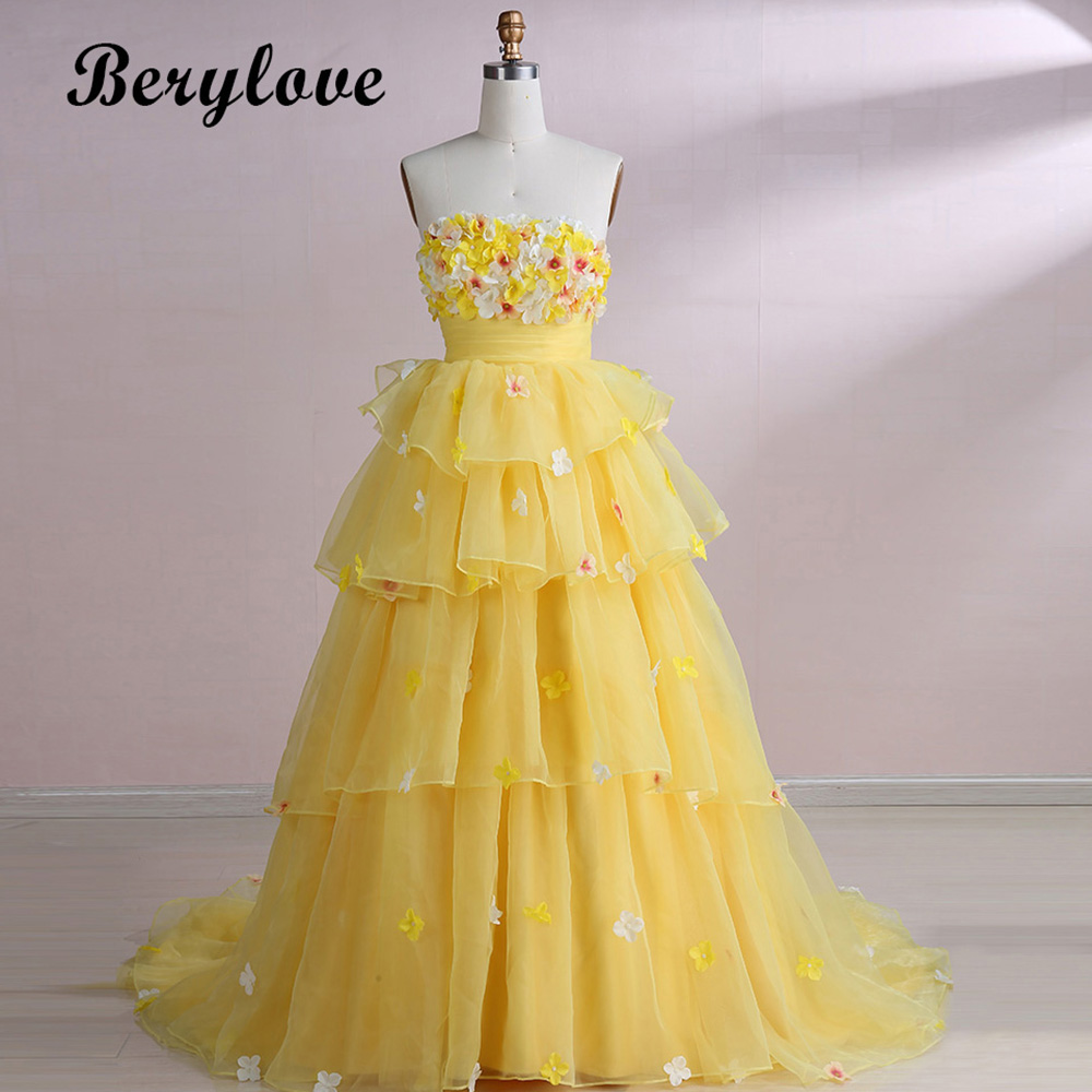 Aliexpress Buy Berylove Princess Ball Gown Quinceanera Dresses
