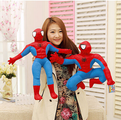 The Avengers Spiderman Plush Toys Cartoon Spider-man Plush Doll Action Figures Collectible Model Toys Kids Gifts