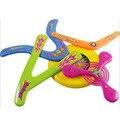 5 em 1 suave discraft aerobie golf set para crianças disco voador do frisbee plástico boomerang brinquedo das crianças ao ar livre final-o frisbee-discos